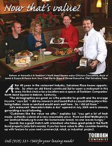 Marcello's Bistro & Bar chose Toebben's North Bend Square because of the opportunities.
