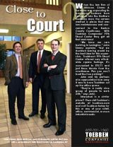 Interested in office space instead? Consider Toebben's Fifth Street Center, these attorneys did!