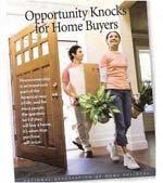Not sure if now is the right time to buy a home?Click above to find opportunity knocking!