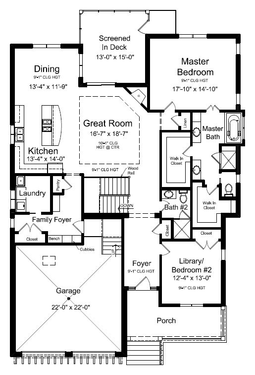 SV-39 First Floor Plan